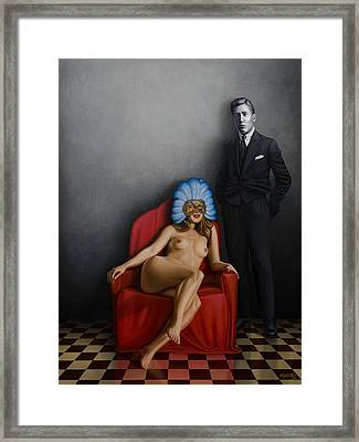 Beauty Of The Carnival Framed Print by Horacio Cardozo