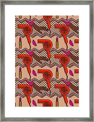 Beauty Parlor Framed Print by Sholto Drumlanrig