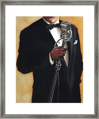 Becoming A Legend Framed Print by Denny Bond