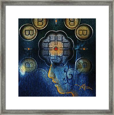 Becoming Framed Print by Bob Salo