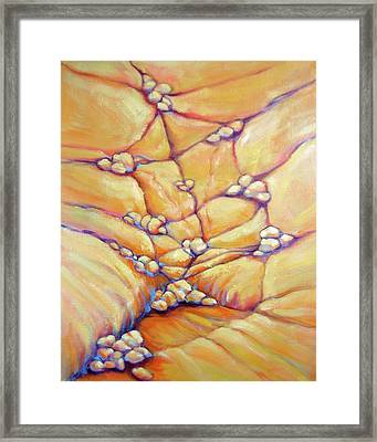 Becoming Framed Print by Nancy Matus