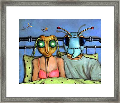 Bed Bugs Framed Print by Leah Saulnier The Painting Maniac