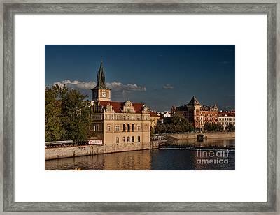 Bedrich Smetana Museum Framed Print by Joerg Lingnau