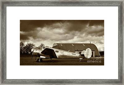 Beechcraft 18 Expeditor Framed Print by Richard Allen