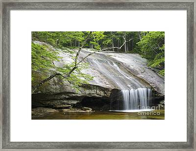 Beede Falls - Bearcamp River New Hampshire Framed Print by Erin Paul Donovan