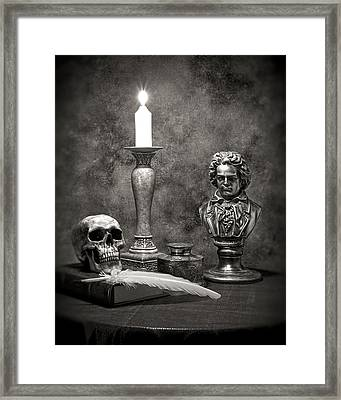 Beethoven Still Life Framed Print by Tom Mc Nemar