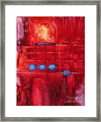 Beethovens Fifth Framed Print by Suzanne Krueger
