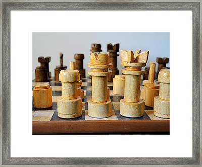 Before The Battle Framed Print by Guido Strambio