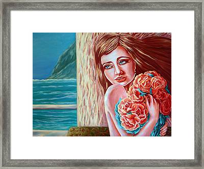 Before The First Spring Thunderstorm Framed Print by Katreen Queen
