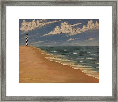 Before The Move Framed Print by Stacy C Bottoms