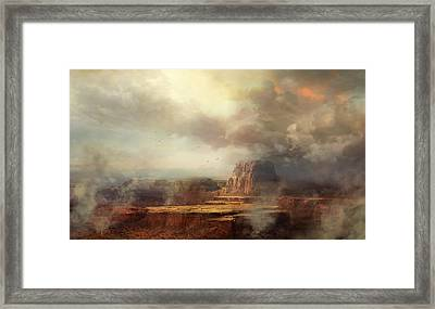 Before The Rain Framed Print by Philip Straub