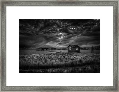 Before The Storm Framed Print by Erik Brede