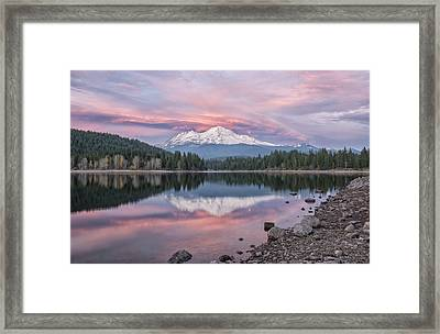 ...before The Storm Framed Print by Loree Johnson