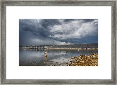 Before The Storm Framed Print by Steven  Michael