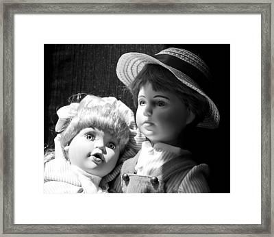 Befriend  Framed Print by Tom Druin