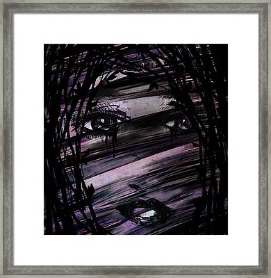 Behind The Branches Framed Print by Rachel Christine Nowicki