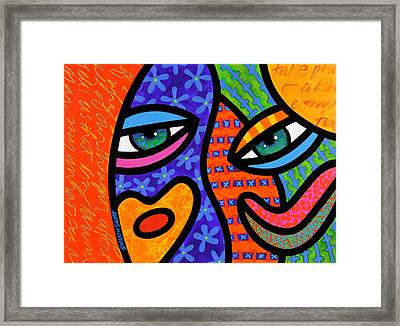 Behind The Curtain Framed Print by Steven Scott