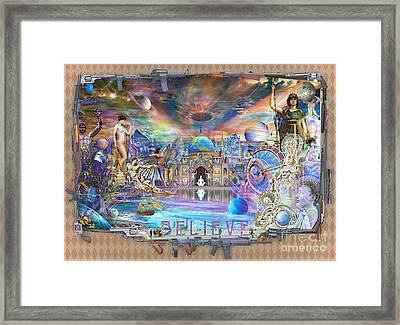Alpha - Believe 2013 Framed Print by John Smith