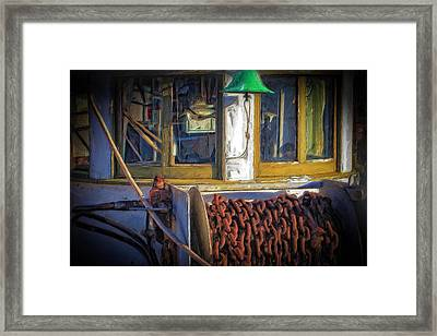 Bell And Winch Framed Print by Thom Zehrfeld