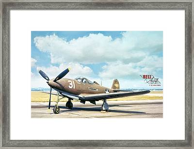 Bell P-39 Airacobra Framed Print by Peter Chilelli