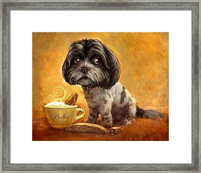 Bella's Biscotti Framed Print by Sean ODaniels