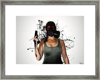 Bellatrix - Horizontal Framed Print by Nicklas Gustafsson
