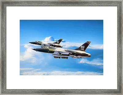 Belle And Hammer Framed Print by Peter Chilelli