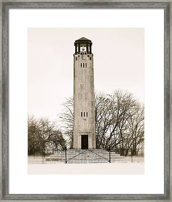 Belle Ilse Light  Framed Print by Michael Peychich
