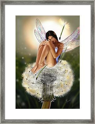 Belle Framed Print by Maggie Terlecki