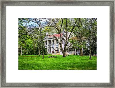 Belle Meade Plantation, Nashville Framed Print by Chris Smith