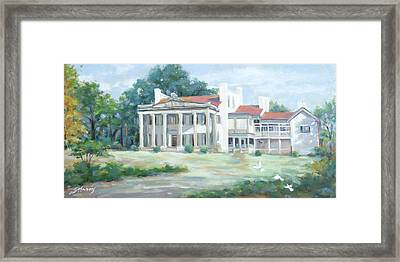 Belle Meade Plantation Framed Print by Sandra Harris