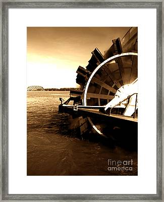 Belle Of Louisville Framed Print by Utopia Concepts