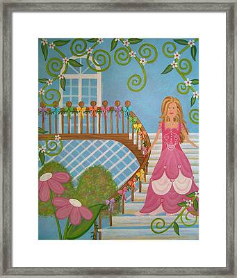 Belle Of The Ball Framed Print by Samantha Shirley