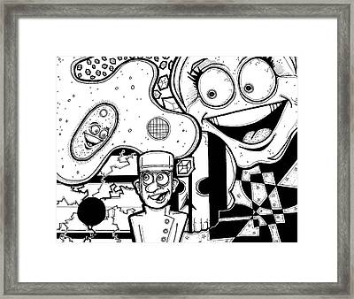 Bellhop Montage Framed Print by Christopher Capozzi
