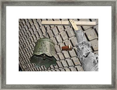 Bells Of The Orient Framed Print by Christine Till