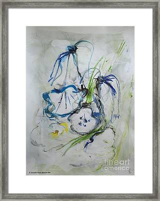 Bells Spring Ringing Framed Print by Dorota Zukowska