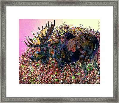 Belly Deep Framed Print by Bob Coonts