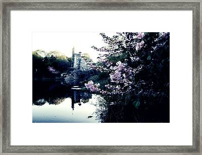 Belvedere Castle Framed Print by Ariane Moshayedi
