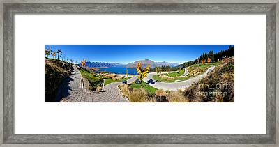 Ben Lomond Scenic Reserve New Zealand Framed Print by Bill  Robinson