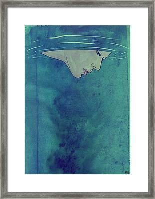 Beneath Framed Print by Giuseppe Cristiano