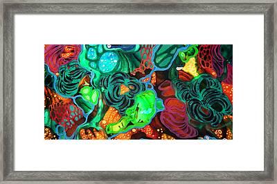 Beneath The Surface #2 Framed Print by Angela McKenzie