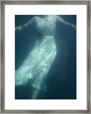 Beneath The Surface Framed Print by Mark Owen