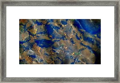 Beneath The Surface Framed Print by Mike Breau
