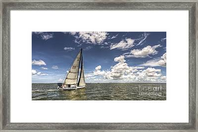 Beneteau First 40.7 Framed Print by Dustin K Ryan