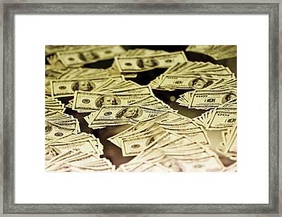 Benjamins Framed Print by Hsin Liu