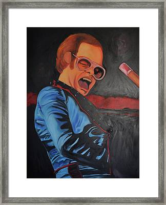 Benny And The Jet Framed Print by Mitchell Todd