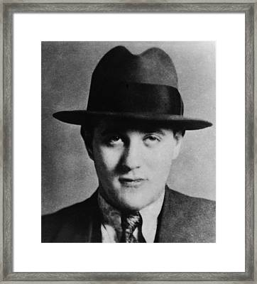 Benny Bugsy Siegel 1906-1947, Partnered Framed Print by Everett