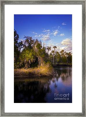 Bent Stream Framed Print by Marvin Spates