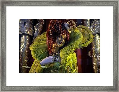 Bergdorf Goodman's Window 2 - Xmas 2015 Framed Print by Madeline Ellis