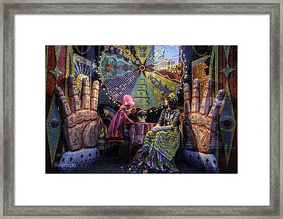 Bergdorf Goodman's Window - Xmas 2015 Framed Print by Madeline Ellis